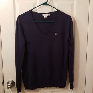 Vineyard Vines Cotton V-Neck Sweater